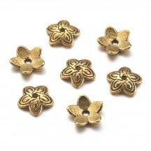 Capacel auriu antichizat 11mm