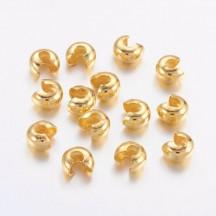 Acoperitor crimpi aurii 4mm