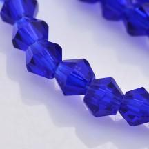 Margele biconice 4x4mm blue