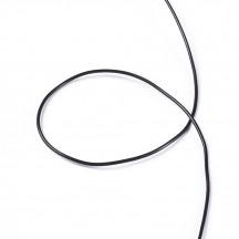 Guta elastica neagra 0.5mm/20m