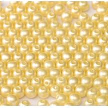 Margele Rotunde 4mm 25039/02010 Alabaster Pastel Cream