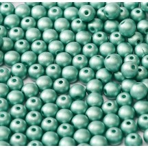 Margele rotunde 29455/02010 Metallic Emerald