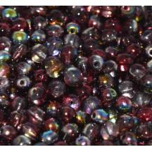 Margele Rotunde 4mm 95200/00030 Crystal Magic Wine