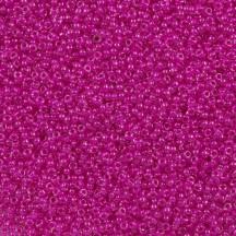 Margele De Nisip Miyuki 8/0 0209 Fuchsia Lined Crystal