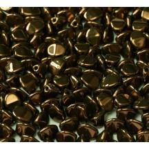 Margele Pinch 5x3mm 14415/23980 Jet Bronze