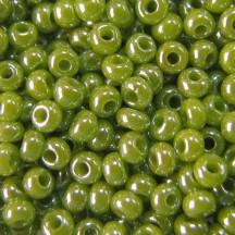 Margele de nisip Preciosa Ornela 10/0 19001/58430 Opaque Lustered Avocado