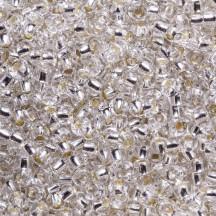 *Margele de nisip Preciosa Ornela 12/0 19001/78102 Silverlined White