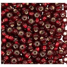 *Margele de nisip Preciosa Ornela 10/0 29001/97120 Silver Lined Ruby