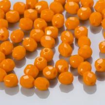 Margele Cehesti Fire-Polish 3 mm 93120 Opaque Orange