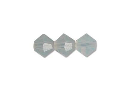 Preciosa 4mm White Opal