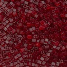 Miyuki cube 1.8mm 0141 Transparent Red