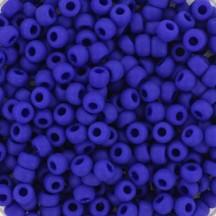 Margele de nisip Miyuki 11/0 0414F Opaque Frosted Cobalt
