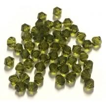Preciosa 3 mm Olivine