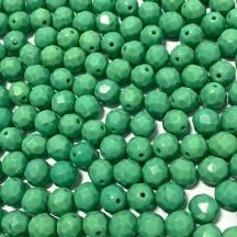 Margele Cehesti Fire-Polish 8mm 53130 Green Turquoise