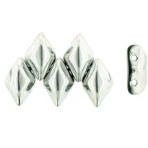 GemDuo S23980 Jet Silver 1/2 Coated