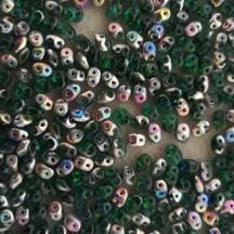 Superduo V50720 Emerald Vitrail