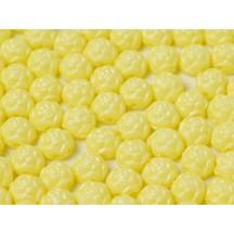 Rosetta 2h Caboschon 6mm 02010/29301 Alabaster Pastel Yellow