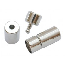 Inchizatoare cu surub 10mm argintie