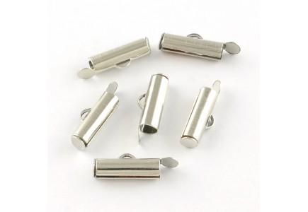 Terminatie Argintie Tub 5.5x13x4mm
