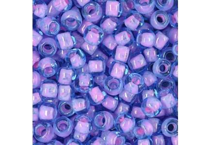 Margele Toho 11/0 0937 Inside Color Aqua Buble Gum