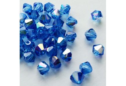 Preciosa 4mm Sapphire AB