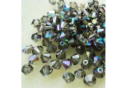 Preciosa 4mm Black Diamond AB