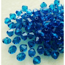 Preciosa 4mm Capri Blue
