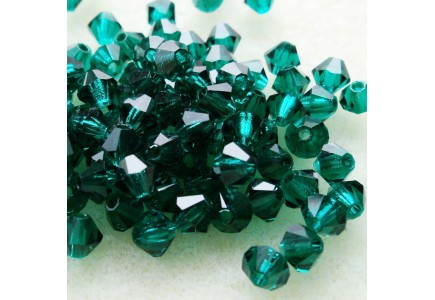 Preciosa 4mm Emerald