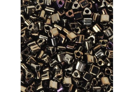 Toho Triangle 11/0 83 Metallic Iris Brown