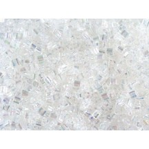 Toho Triangle 11/0 161 Transparent Rainbow Crystal