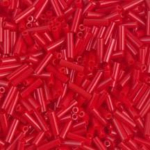 Miyuki Bugle 6mm 0408 Opaque Dark Red