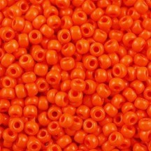 Margele de nisip Miyuki 6/0 406 Opaque Orange