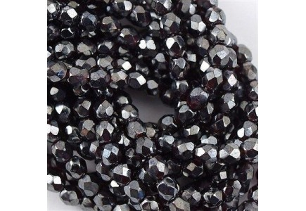Margele Cehesti Fire-Polish 6mm L90110 Luster Garnet