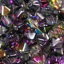 Margele Sticla Cehia Biconice 6mm 00030/95500 Crystal Magic Purple
