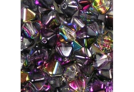 Margele Sticla Cehia Biconice 6mm 00030/95500 Crystal Magic Purple