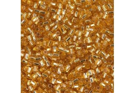 Margele de nisip Miyuki 11/0  0004 Silver Lined Dark Gold