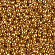 Margele de nisip Miyuki 11/0 4203 Duracoat Galvanized Yellow Gold