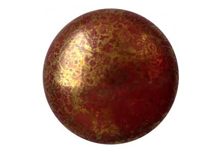 Les Cabochons Par Puca 25mm 13630/15496 Opaque Choco Bronze