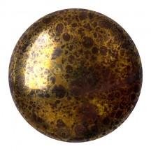Cabochons Par Puca 25mm 13710/15496 Opaque Dark Choco Bronze