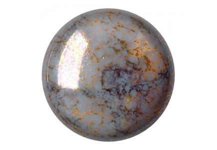 Les Cabochons Par Puca 25mm 43030/15496 Opaque Grey Bronze