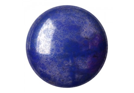 Les Cabochons Par Puca 18mm 33060/15464 Opaque Dark Sapphire Silver Coated