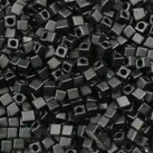 Miyuki Cube 1.8mm 0401F Black Matted