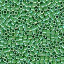 Delica 11/0 DB0163 Opaque Green AB