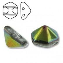 Pyramid Hex 12mm 00030/28101 Crystal Vitrail