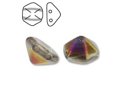 Pyramid Hex 12mm 00030/29500 Crystal Sliperit