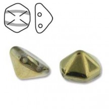 Pyramid Hex 12mm 00030/26441 Crystal Amber