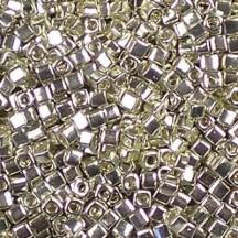 Miyuki Cube 1.8mm 1051 Galvanized Silver