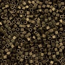 Miyuki Cube 1.8mm 2006 Matted Metallic Dark Bronze