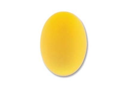 LunaSoft Caboshon 25x18mm Oval Lemon