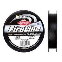 Fireline Black Satin 4lb
